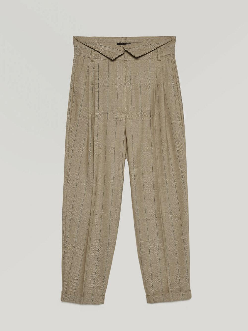 SISLEY Παντελόνι με ψιλή μέση 4BQN55B86 20A902