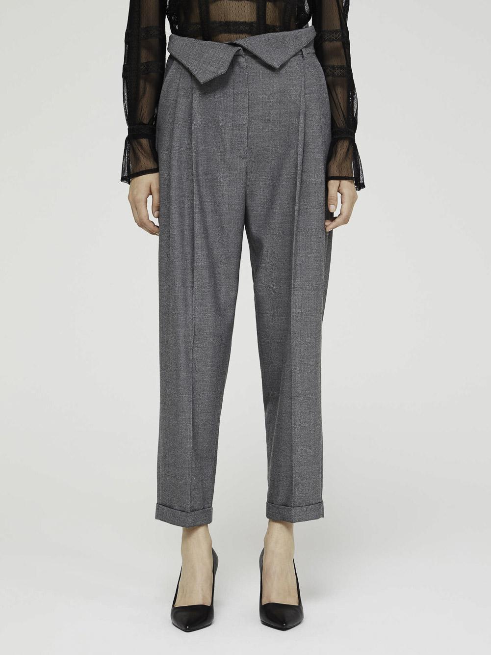 SISLEY Παντελόνι με ψιλή μέση 4BQN55B86 20A911