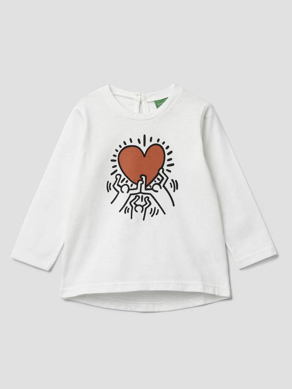 012 BENETTON T-shirt με τύπωμα