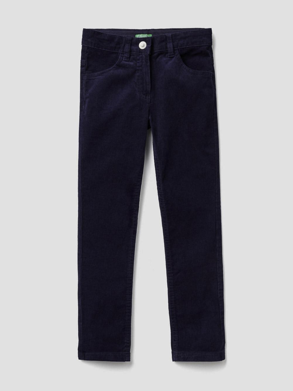 012 BENETTON Παντελόνι από ελαστικό βελούδο 4AD557ME0 20A252