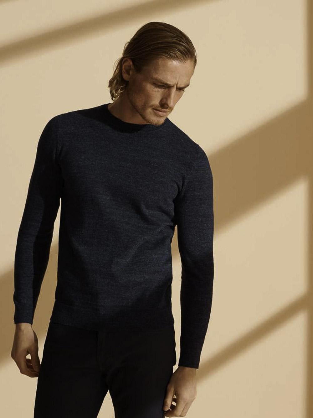 SUPERDRY Μπλούζα T-shirt M6110082A-3YQ ΜΠΛΕ