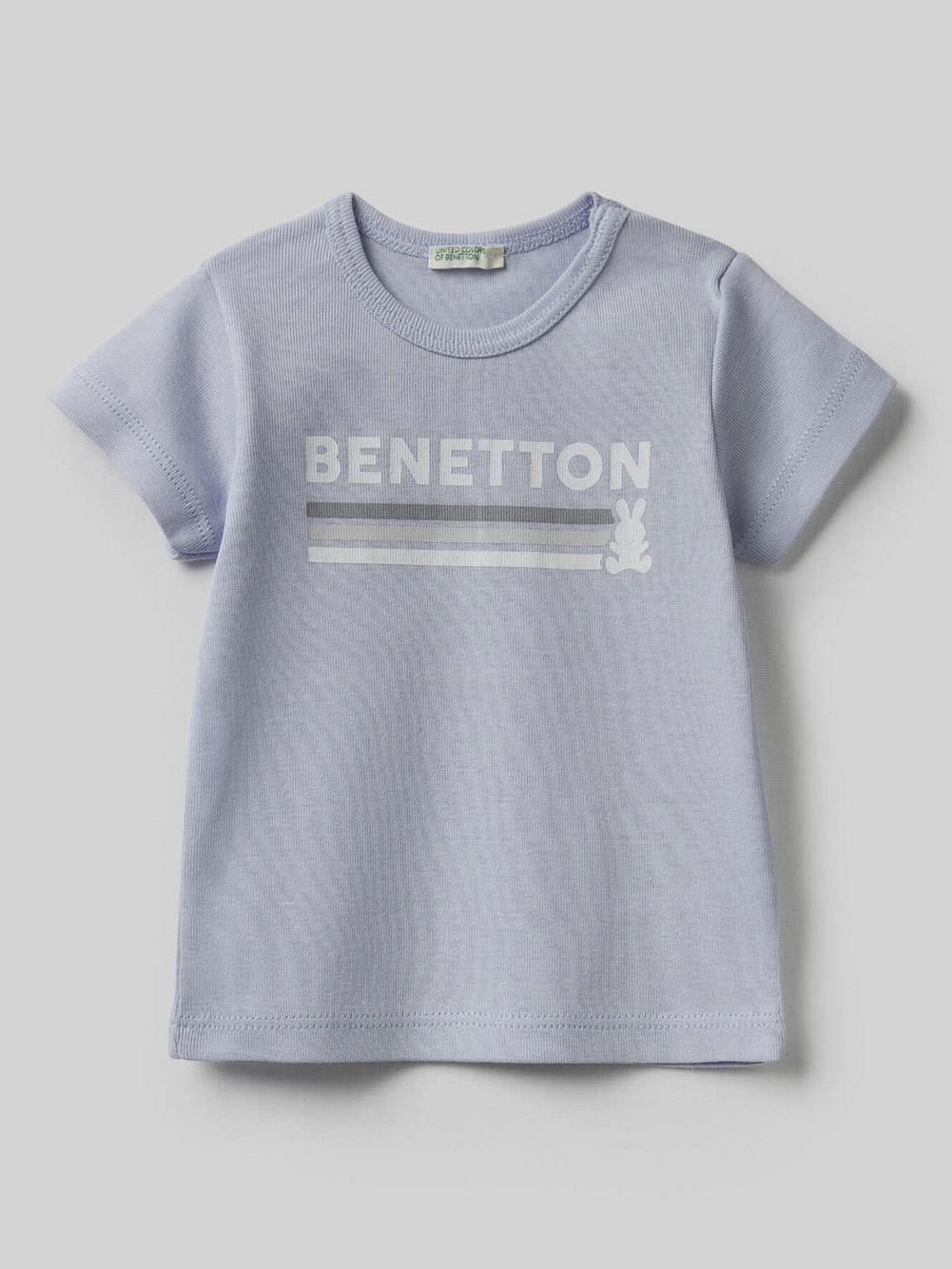 012 BENETTON T-SHIRT W 3I9WMM28H 21P081