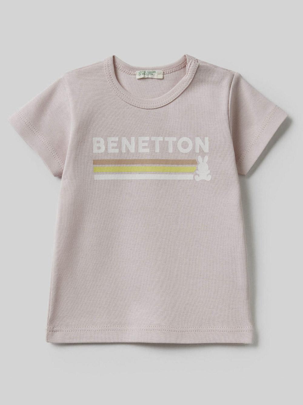 012 BENETTON T-SHIRT W 3I9WMM28H 21P0B4