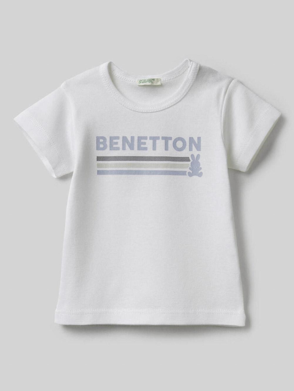 012 BENETTON T-SHIRT W 3I9WMM28H 21P902