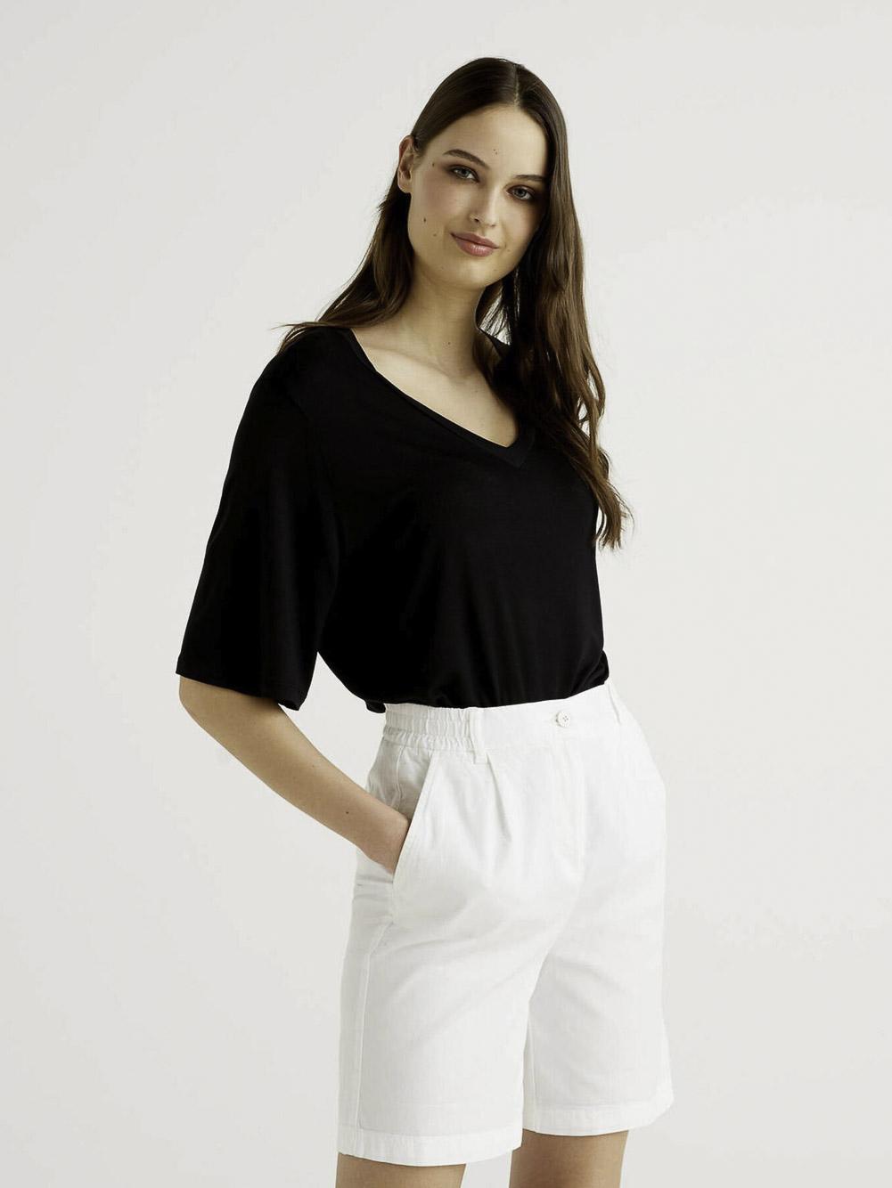 BENETTON Μπλούζα t-shirt 3I65E4269 21P100