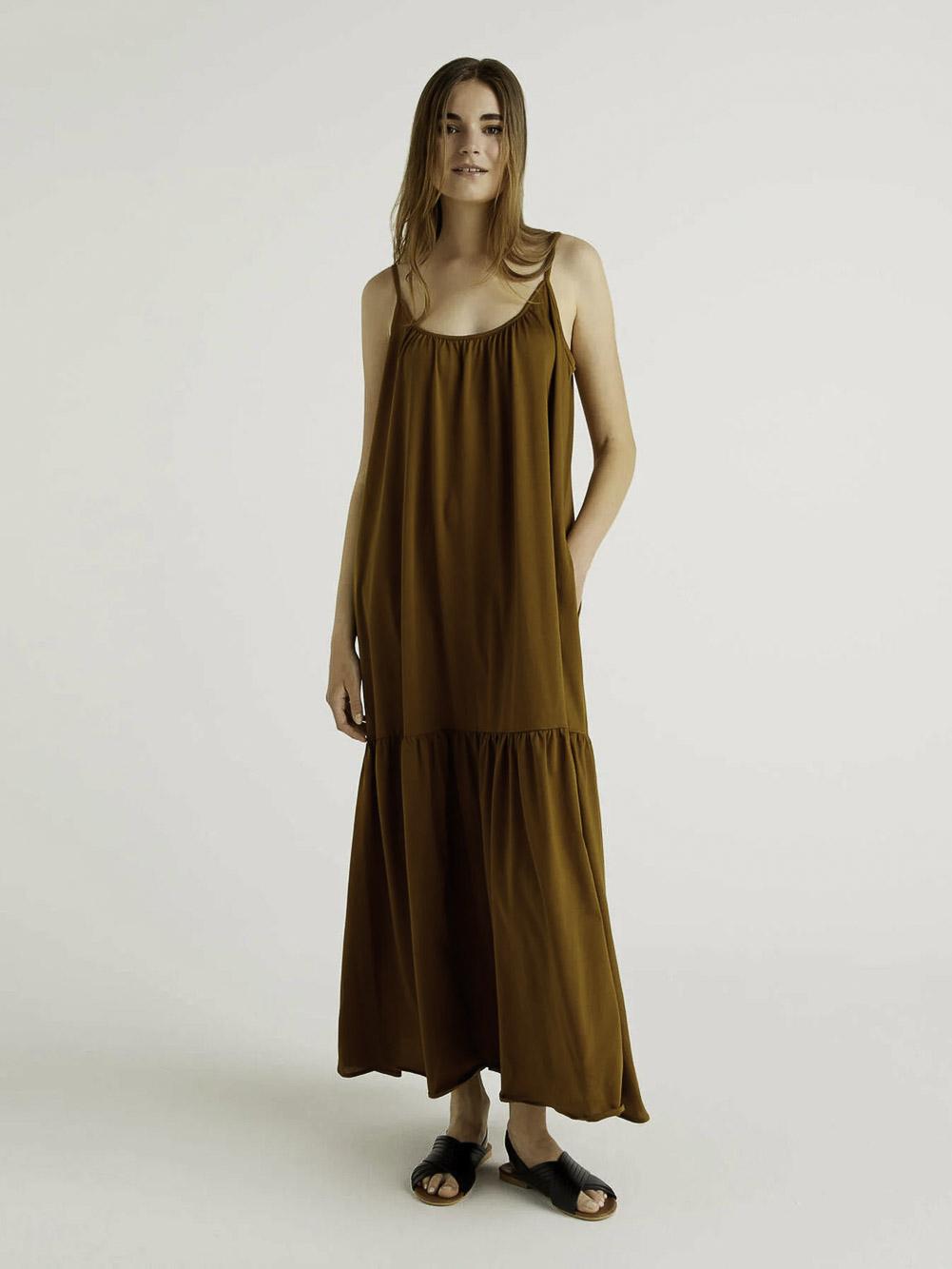 BENETTON Φόρεμα maxi 3JDRV8437 21P2B3