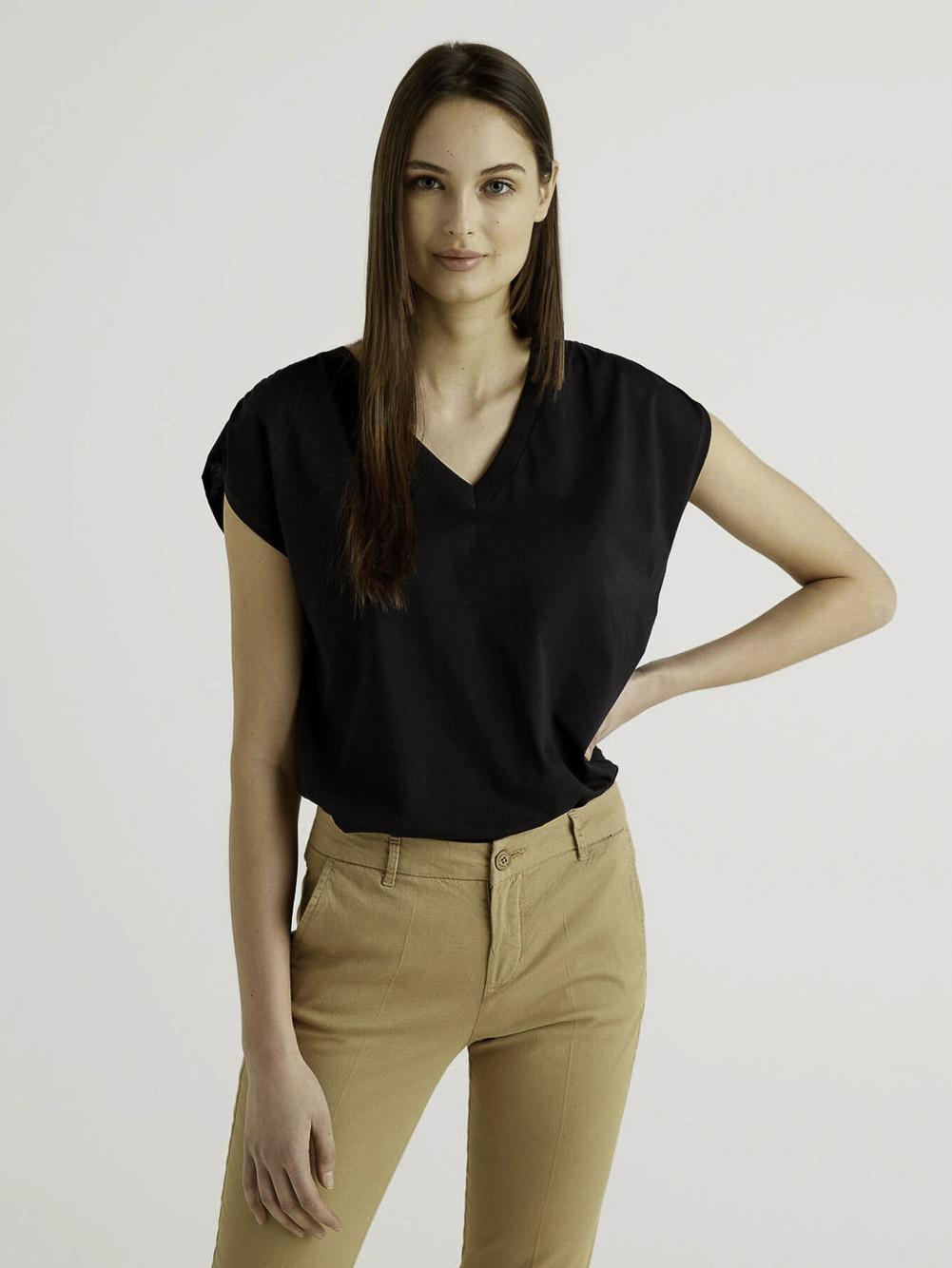 BENETTON Μπλούζα t-shirt 3JDRE4267 21P100