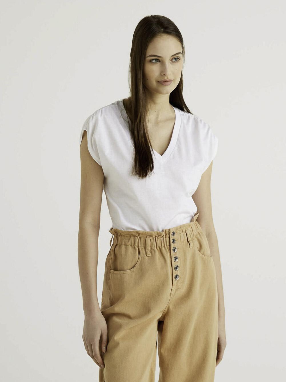 BENETTON Μπλούζα t-shirt 3JDRE4267 21P101