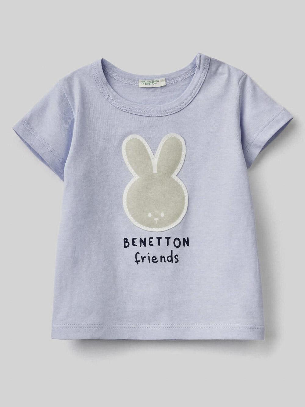 012 BENETTON T-SHIRT W 3I1XMM289 21P081