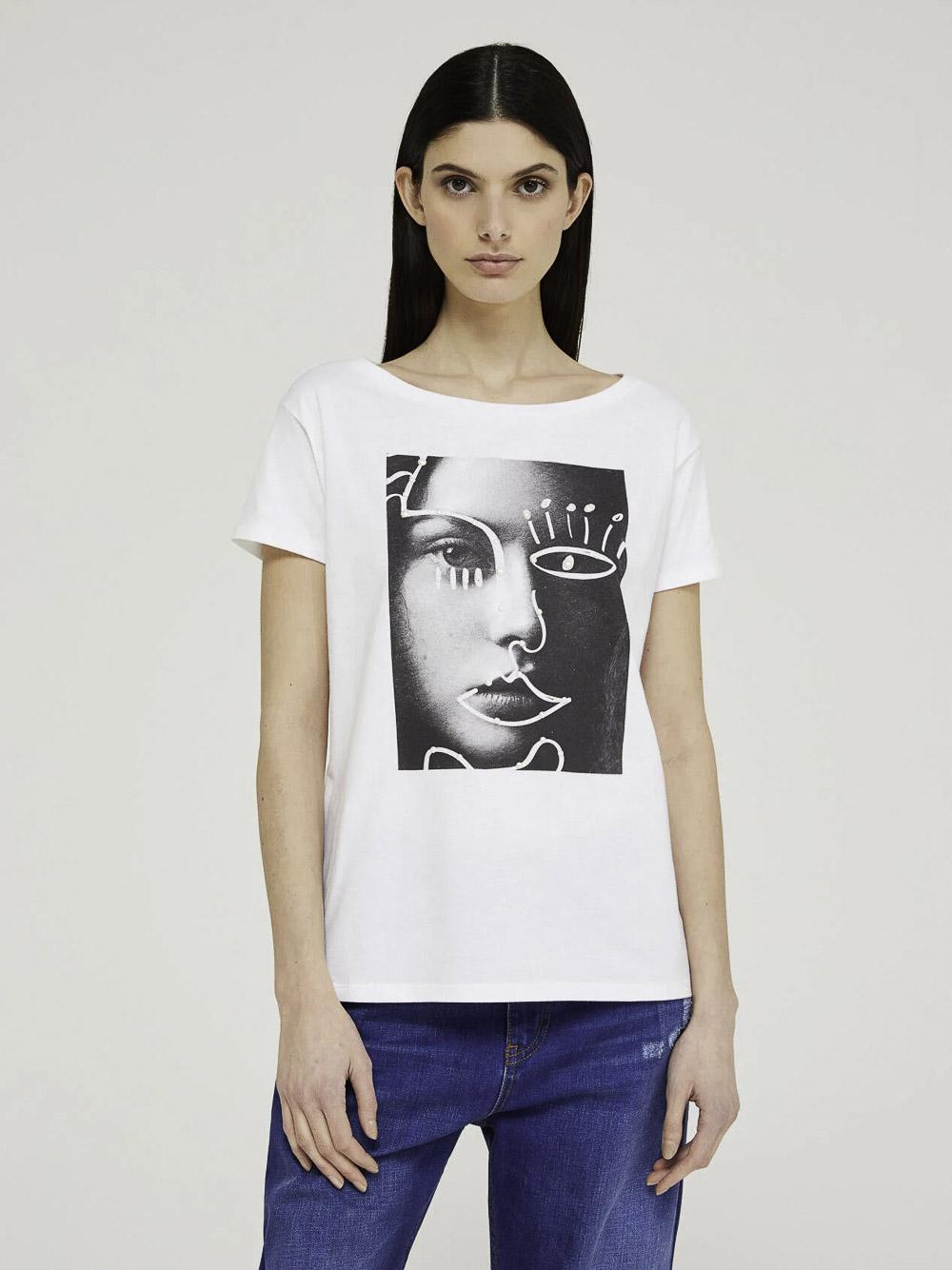 SISLEY Μπλούζα t-shirt 3I1XL12Q8 21P101