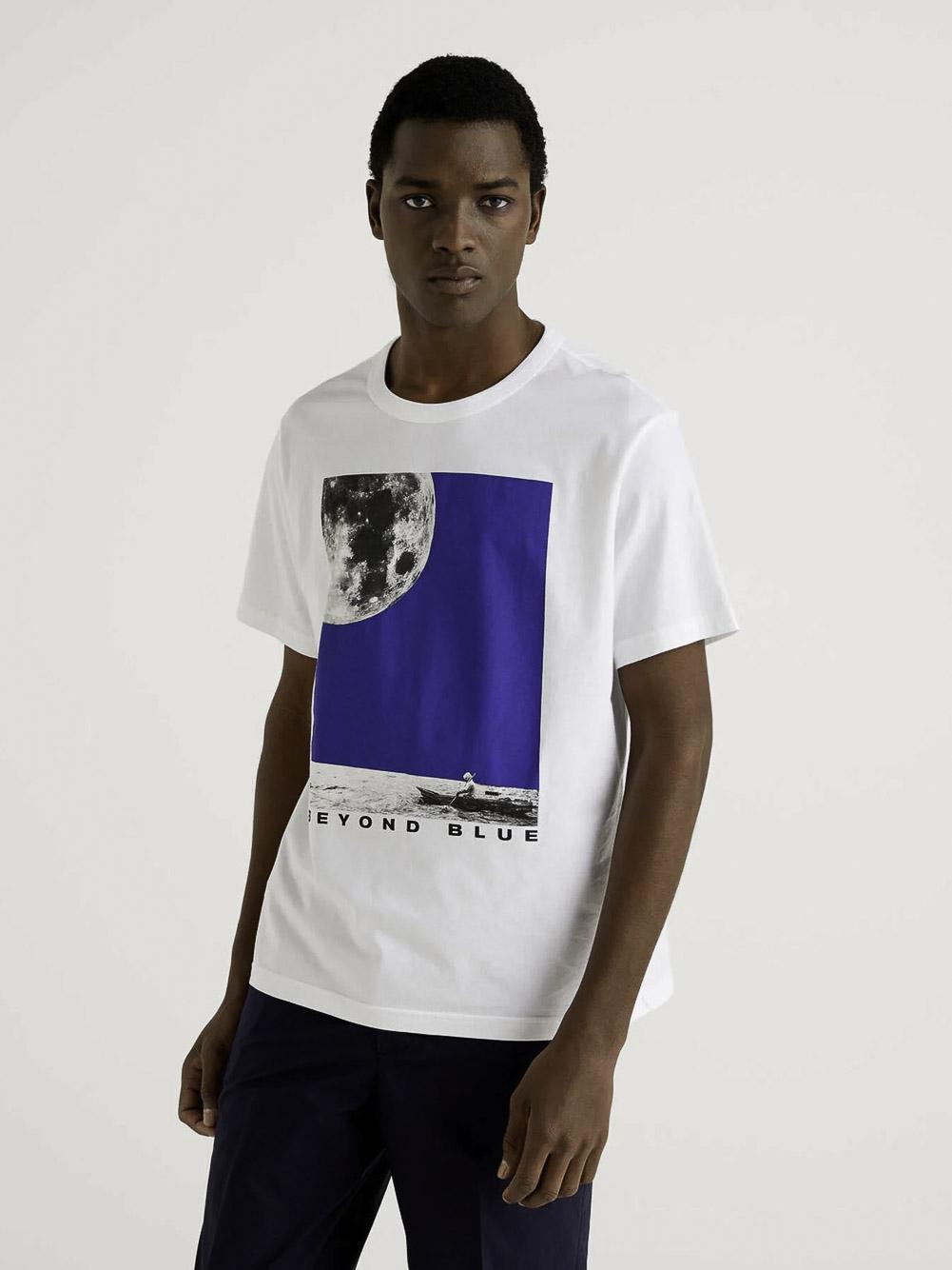 BENETTON Μπλούζα t-shirt 3I1XJ1AC8 21P101