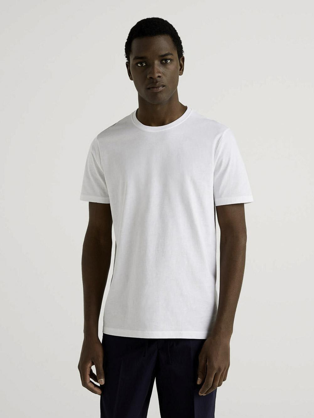 BENETTON Μπλούζα t-shirt 3U53J1F15 21P101