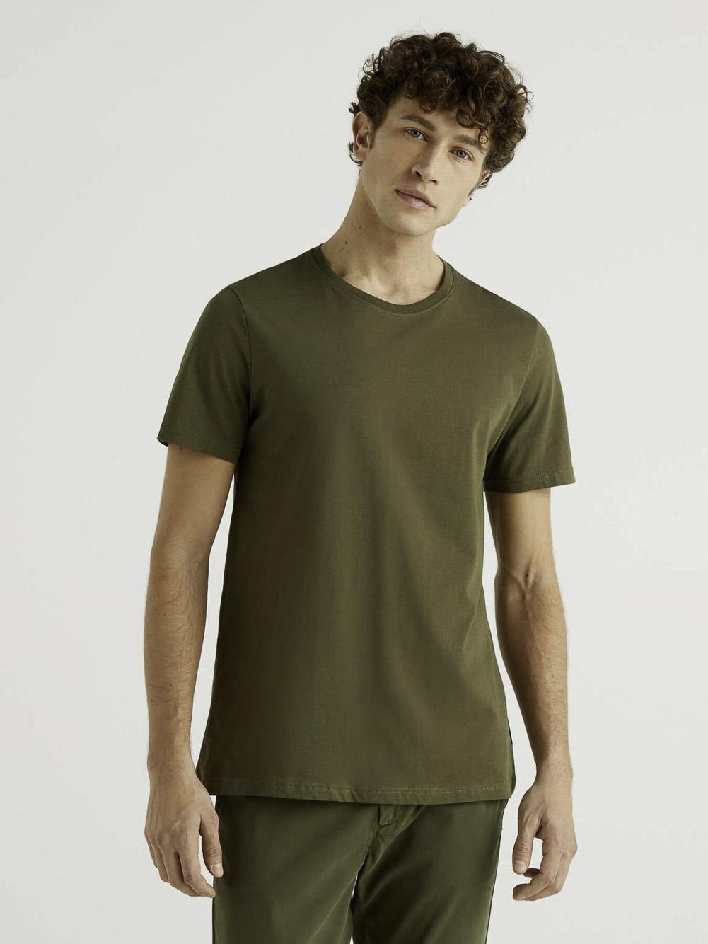 BENETTON Μπλούζα t-shirt 3U53J1F15 21P35A