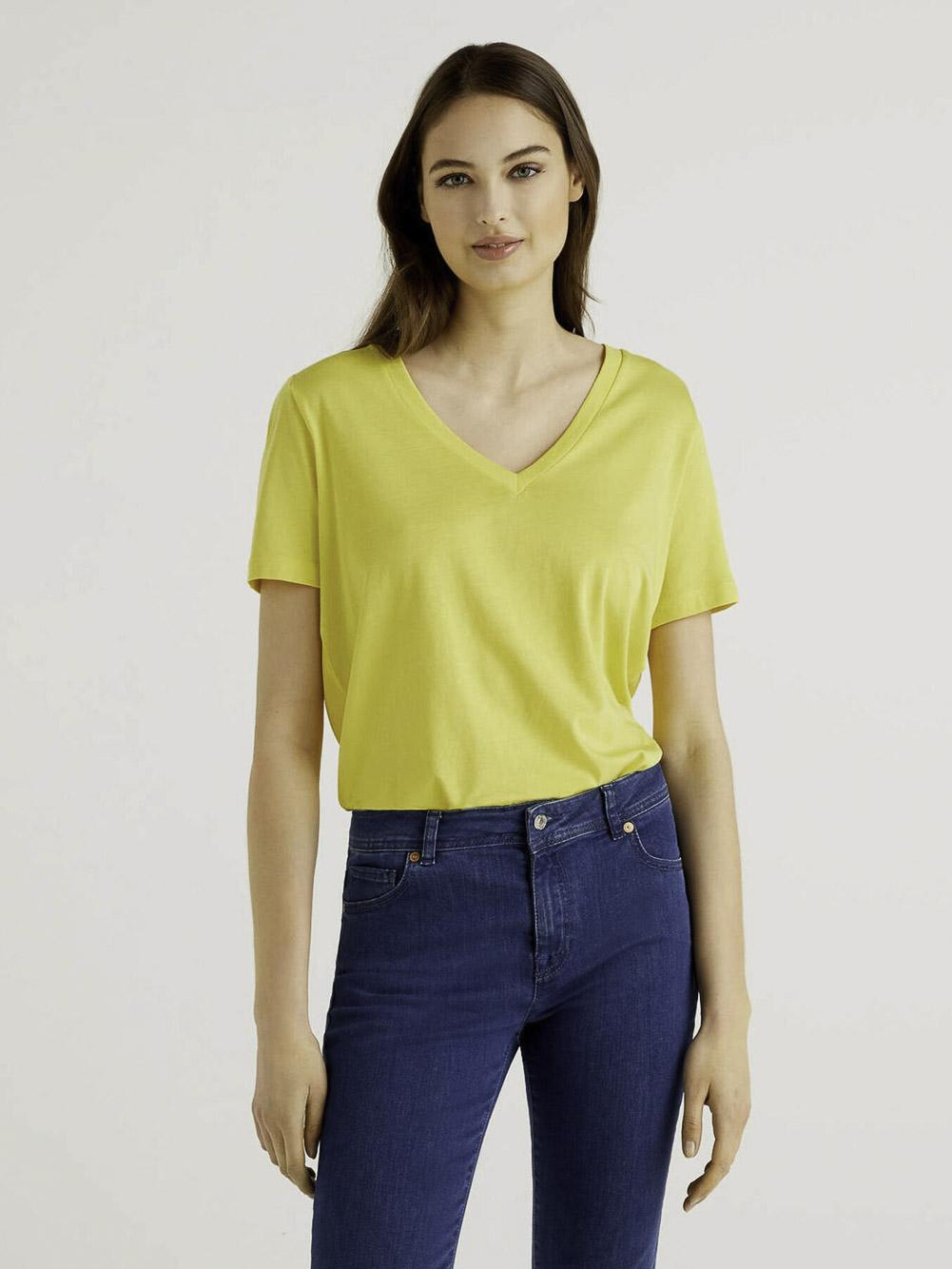 BENETTON Μπλούζα t-shirt 3P1ZE4274 21P00D