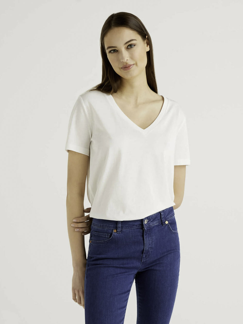 BENETTON Μπλούζα t-shirt 3P1ZE4274 21P074
