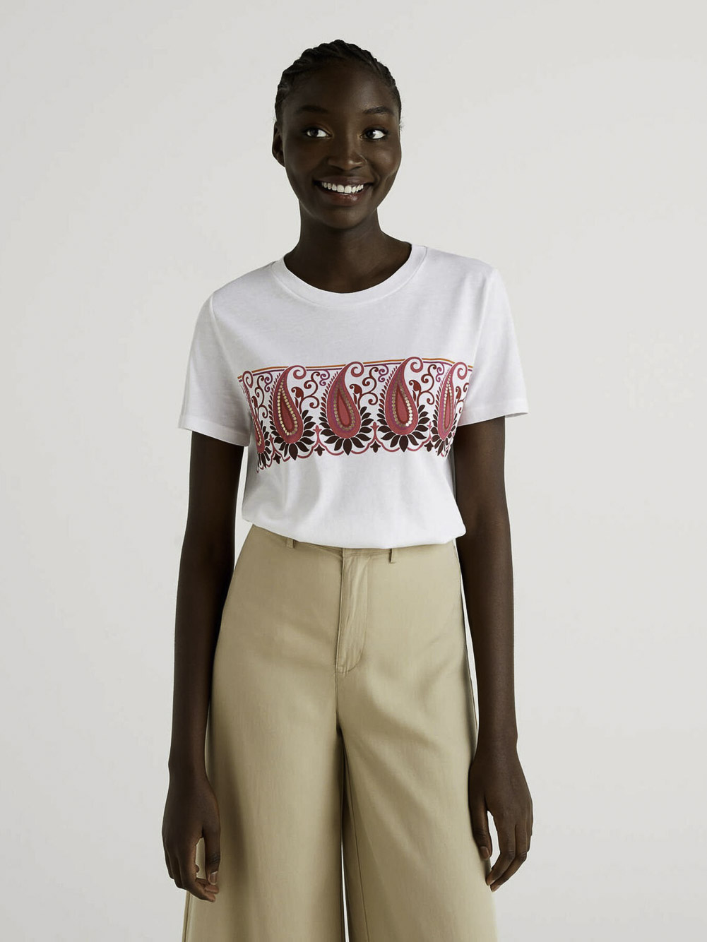 BENETTON Μπλούζα t-shirt 3P1ZE1BA3 21P901