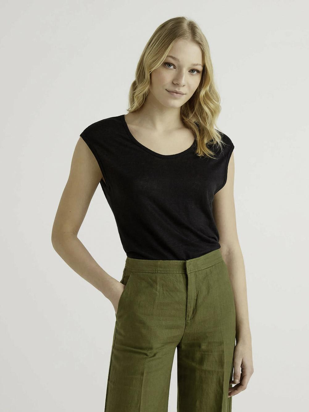 BENETTON Μπλούζα t-shirt 3S1ME16B1 21P100