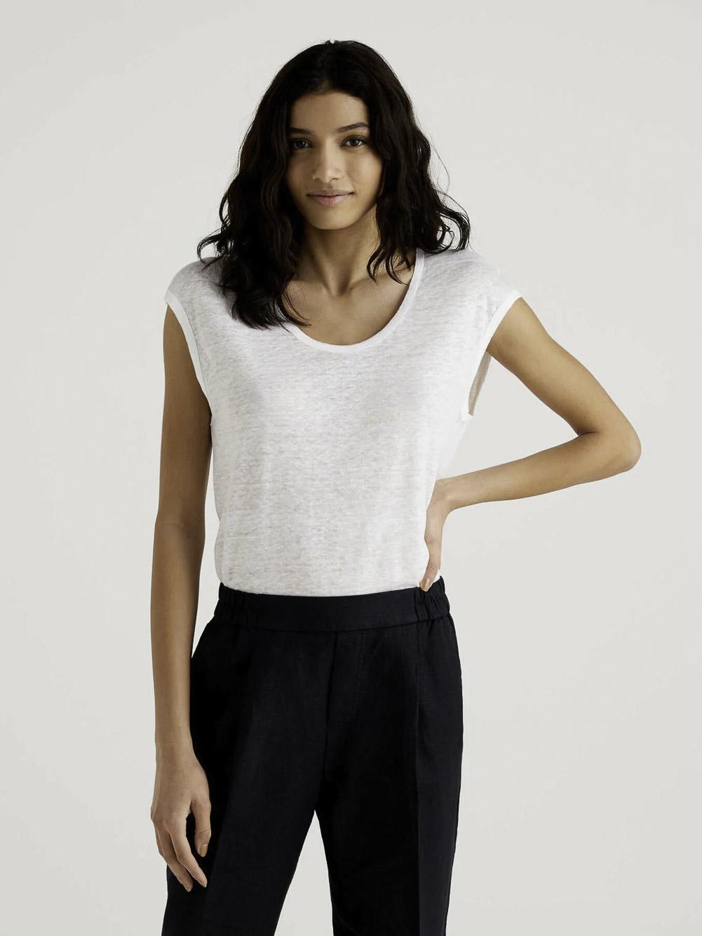 BENETTON Μπλούζα t-shirt 3S1ME16B1 21P101