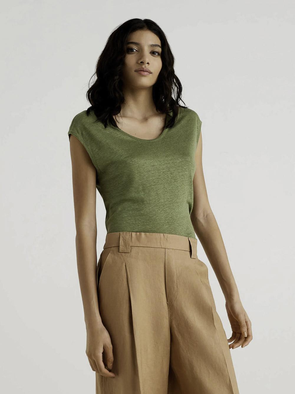 BENETTON Μπλούζα t-shirt 3S1ME16B1 21P2H2