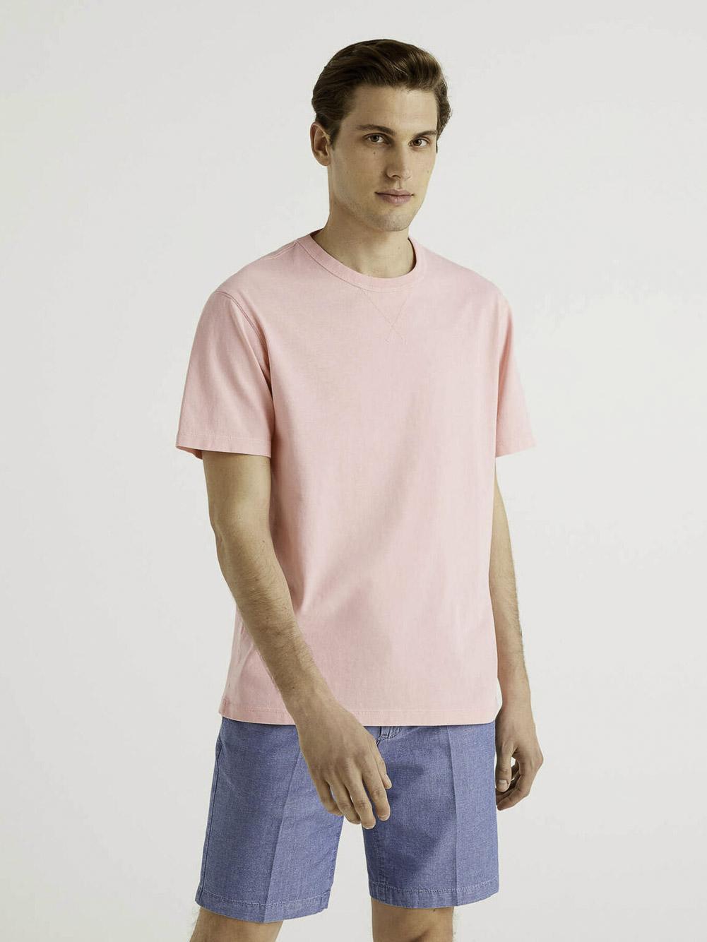 BENETTON Μπλούζα t-shirt 3WYNJ19E2 21P63A