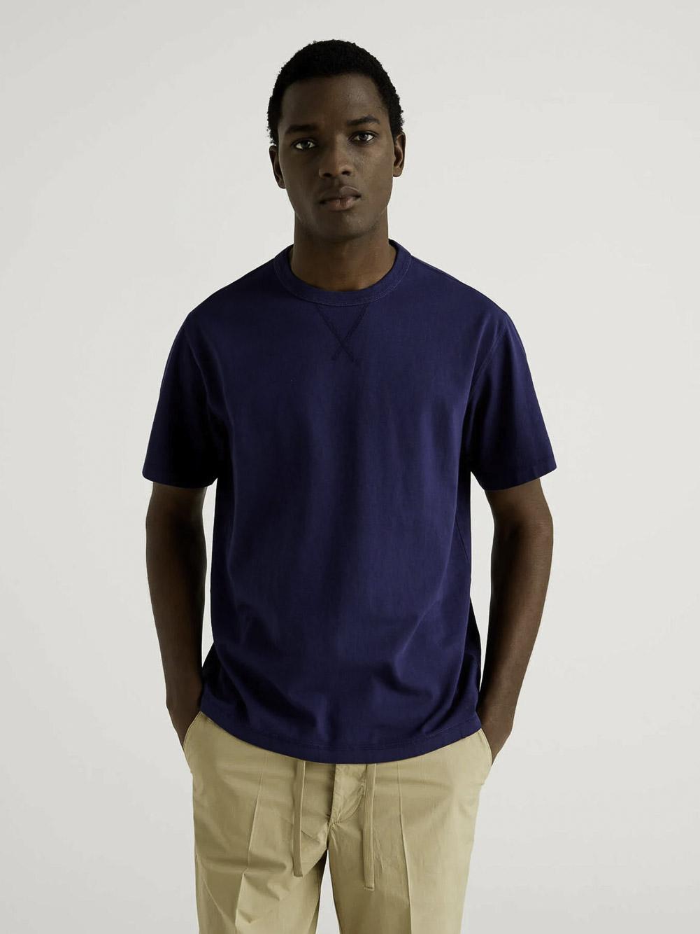 BENETTON Μπλούζα t-shirt 3WYNJ19E2 21P852