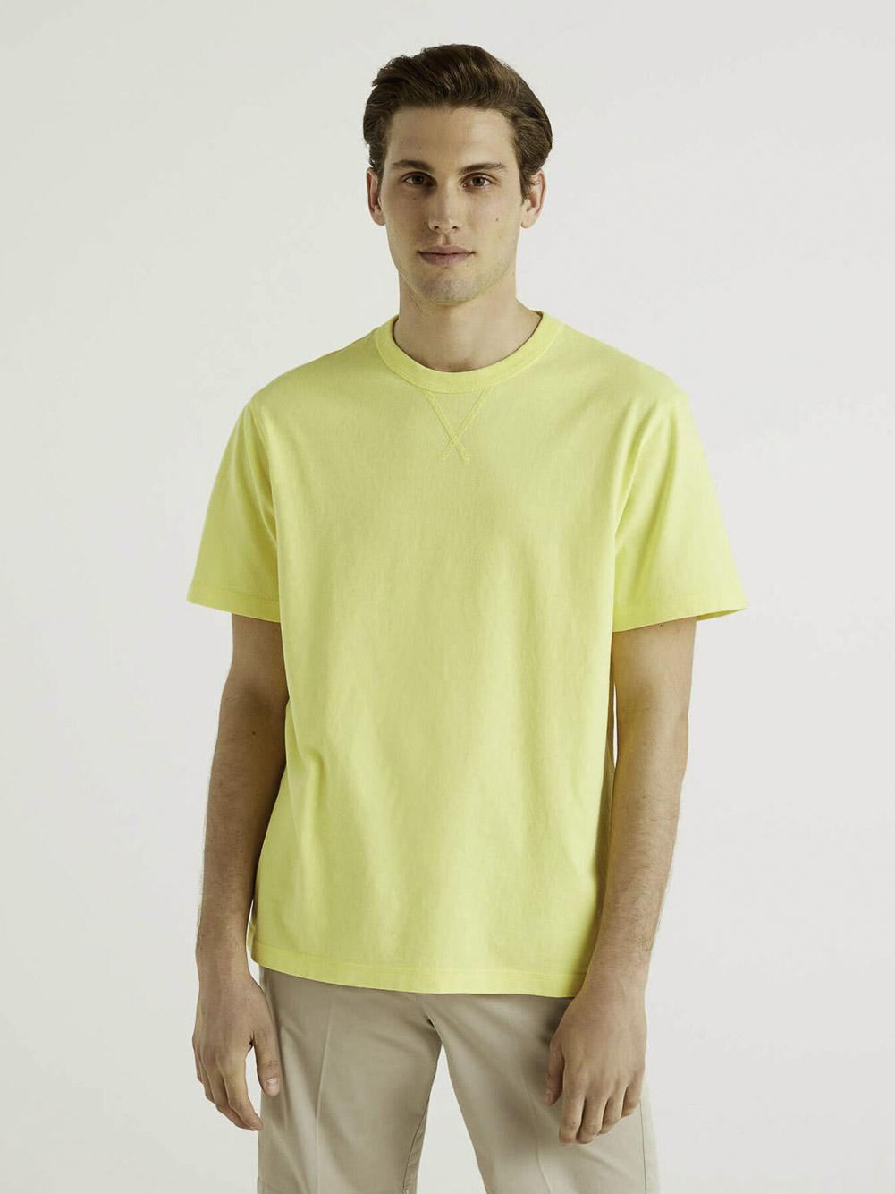BENETTON Μπλούζα t-shirt 3WYNJ19E2 21P8V6