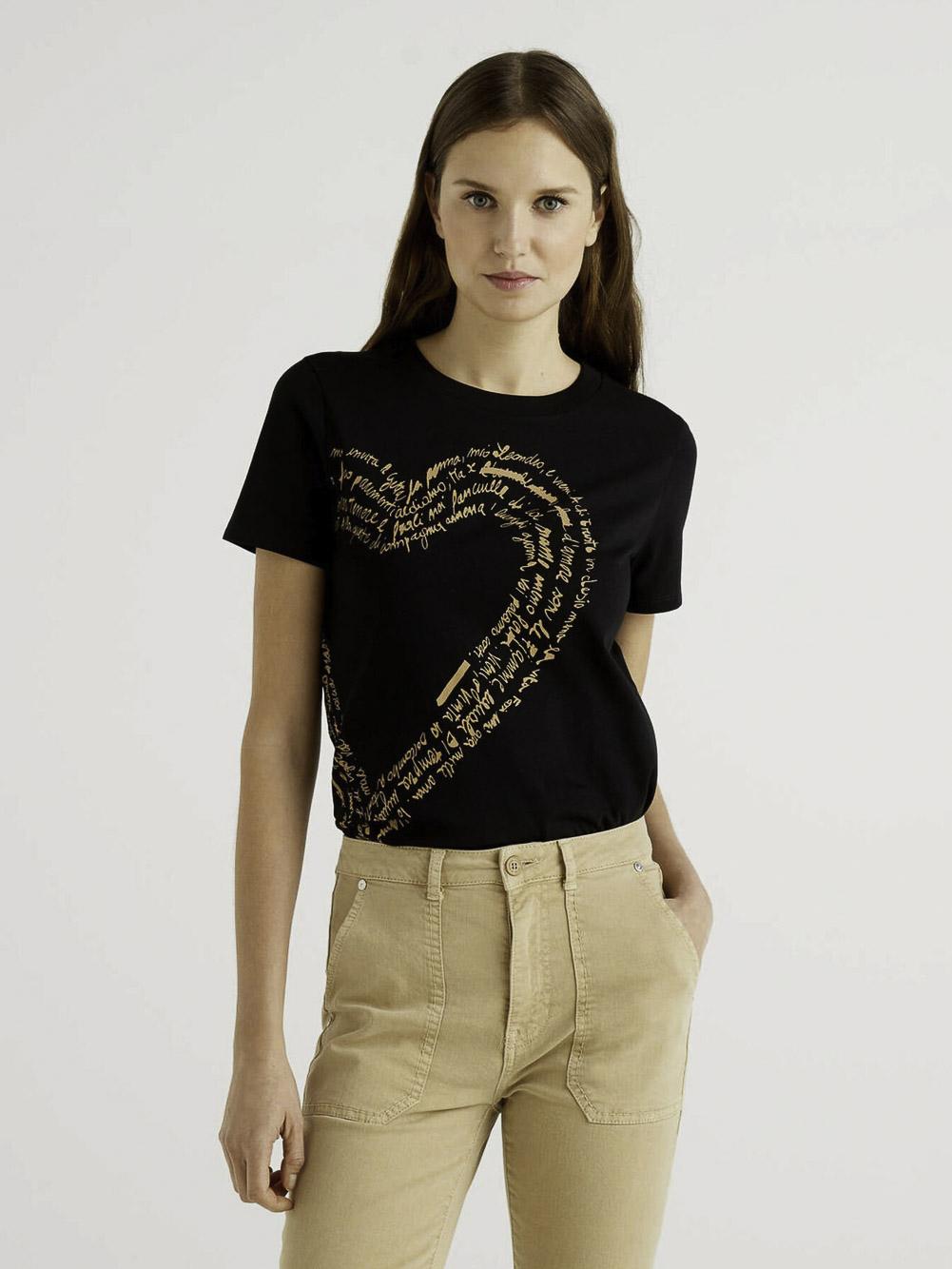 BENETTON Μπλούζα t-shirt 3MI5E1AA6 21P100