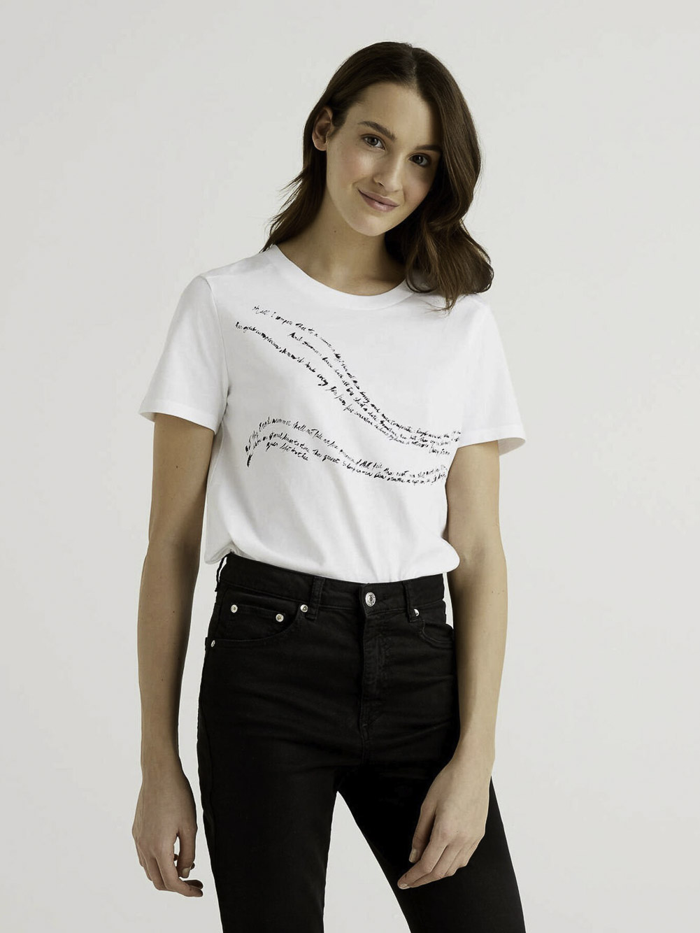 BENETTON Μπλούζα t-shirt 3MI5E1AA6 21P902