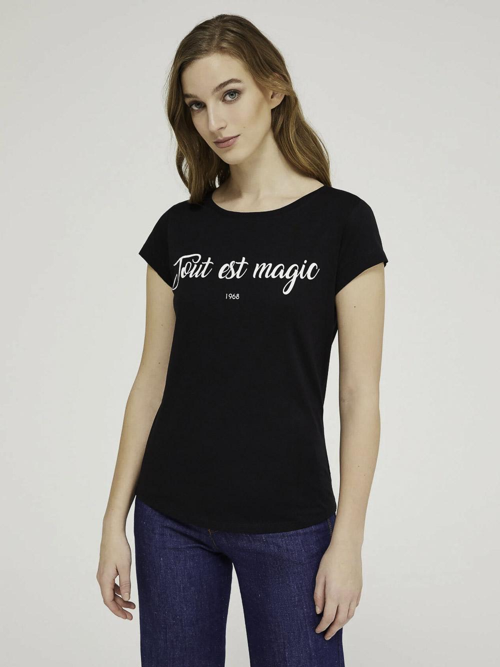 SISLEY Μπλούζα t-shirt 3L7NL12QY 21P100