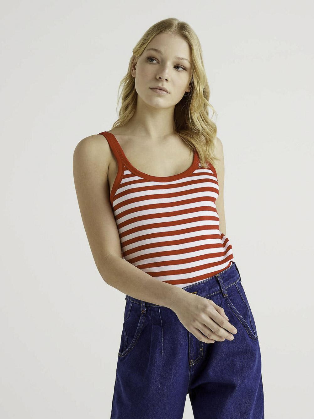 BENETTON Μπλούζα t-shirt 3OA6E8397-21P615 21P615