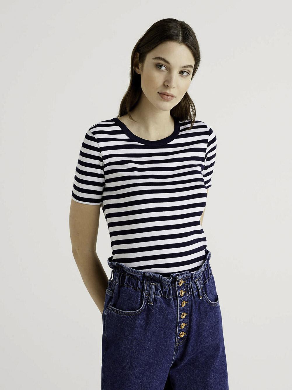 BENETTON Μπλούζα t-shirt 3OA6E16A0 21P616