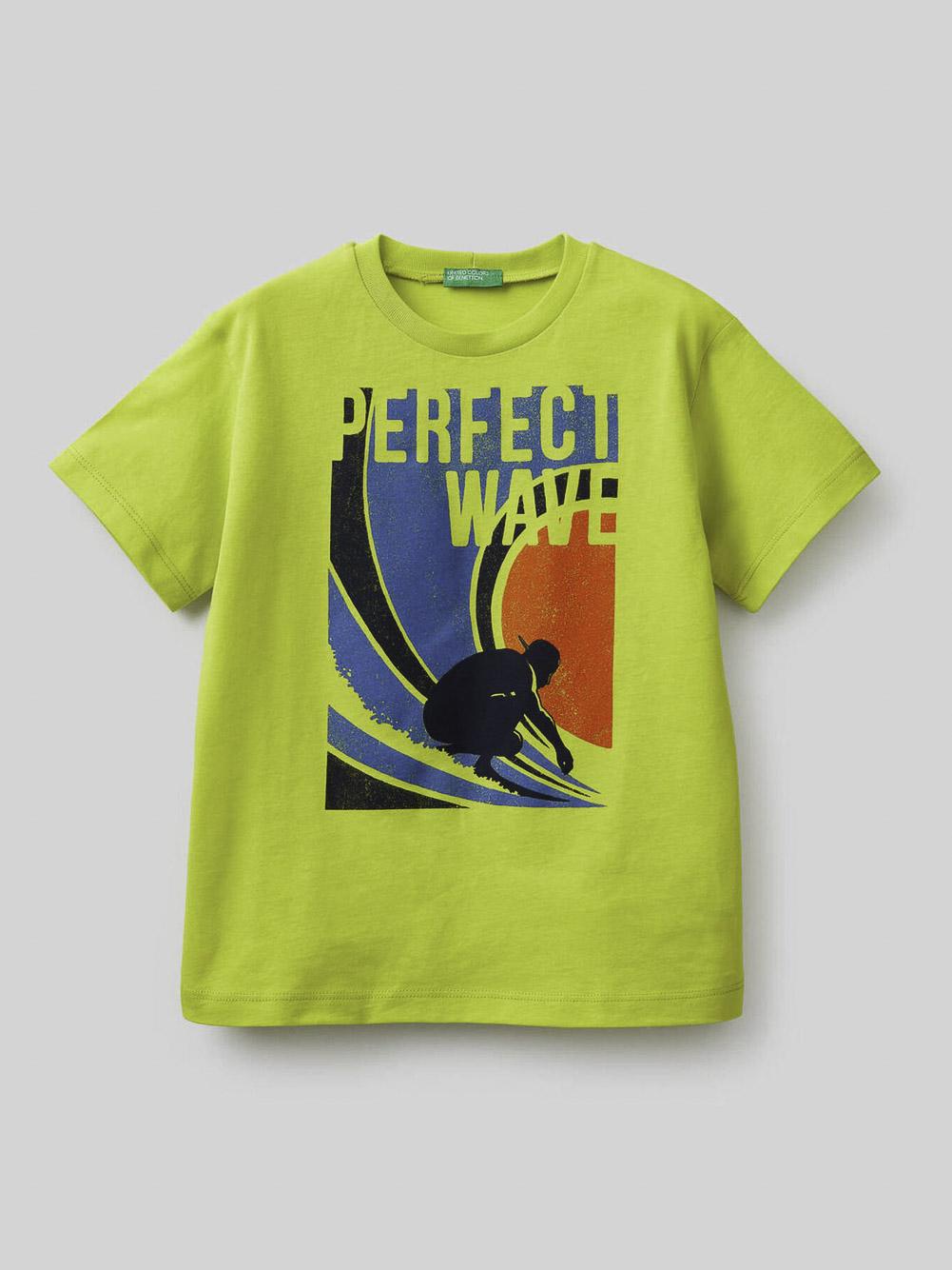 012 BENETTON Μπλούζα t-shirt 3096C15A3 21P29B