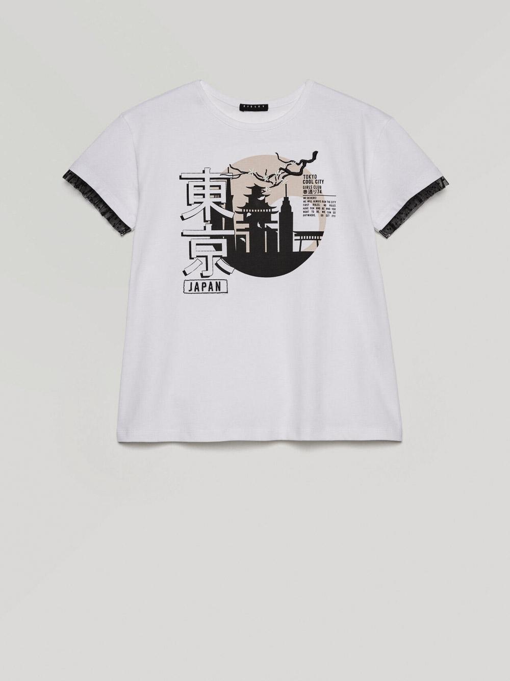 SISLEY YOUNG Μπλούζα t-shirt 3096C1593 21P101