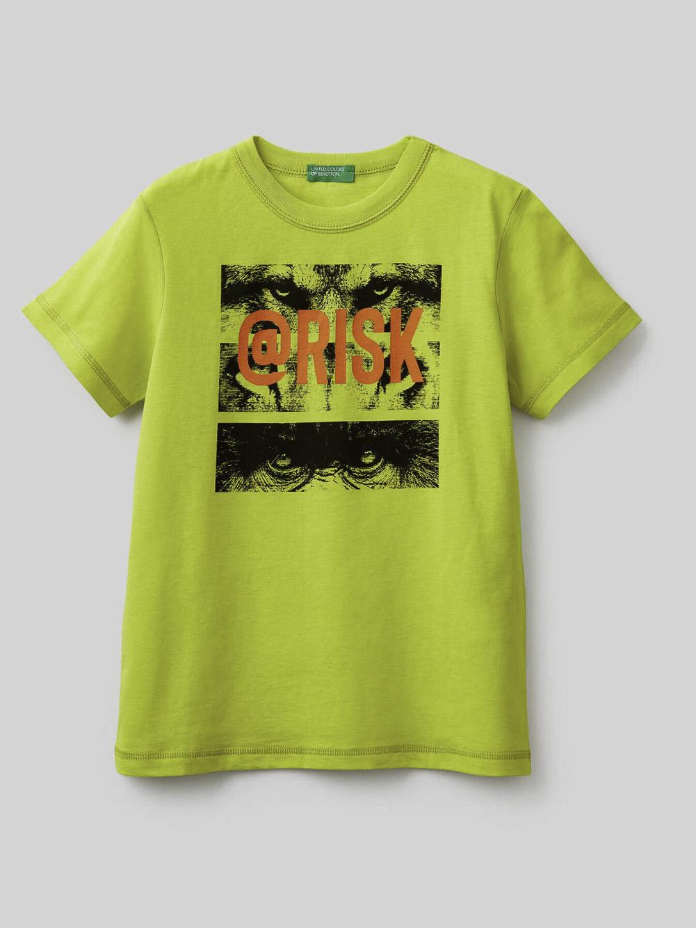 012 BENETTON Μπλούζα t-shirt 3096C15A5 21P29B