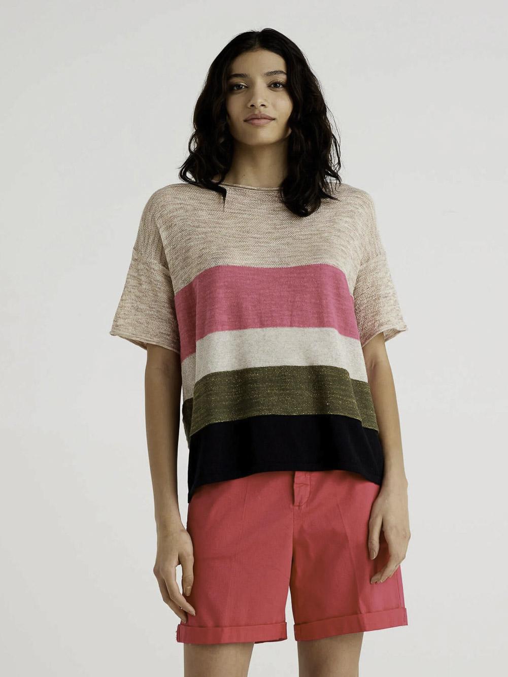 BENETTON Μπλούζα t-shirt 118KE1O49 21P86A