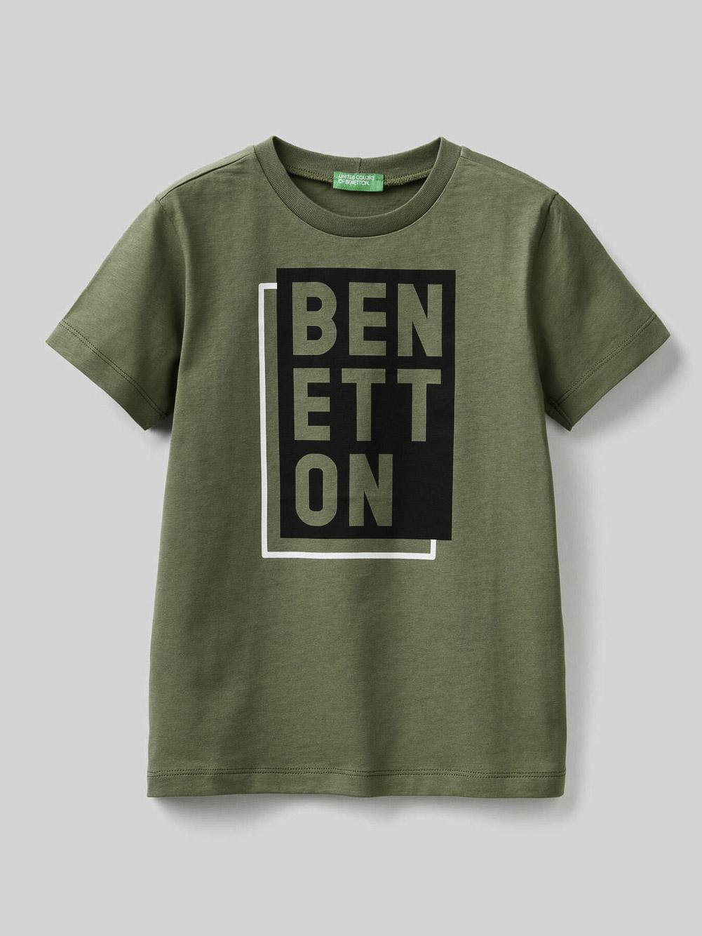 012 BENETTON T-SHIRT G 3096C151T 21P07N