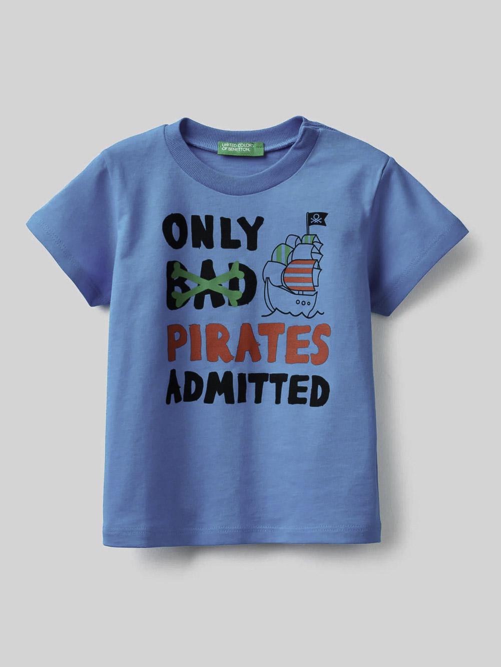 012 BENETTON Μπλούζα t-shirt 3096C15AR 21P08V