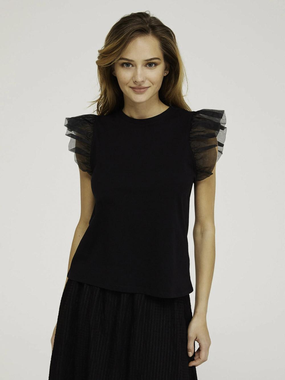 SISLEY Μπλούζα t-shirt 3AIRL12Q4 21P100