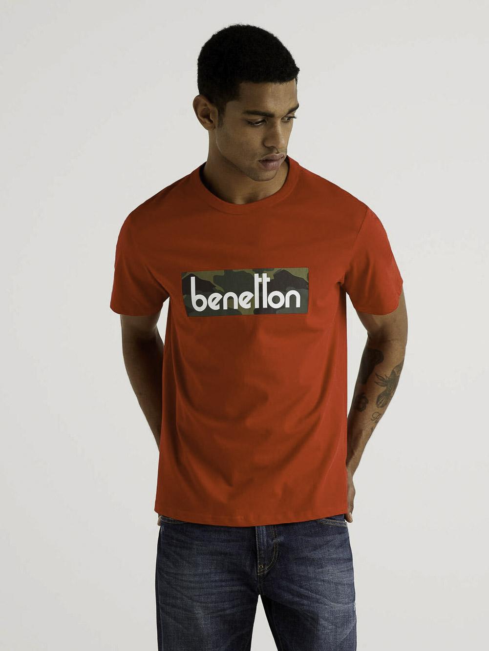 BENETTON Μπλούζα t-shirt 3096J17H6 21P015