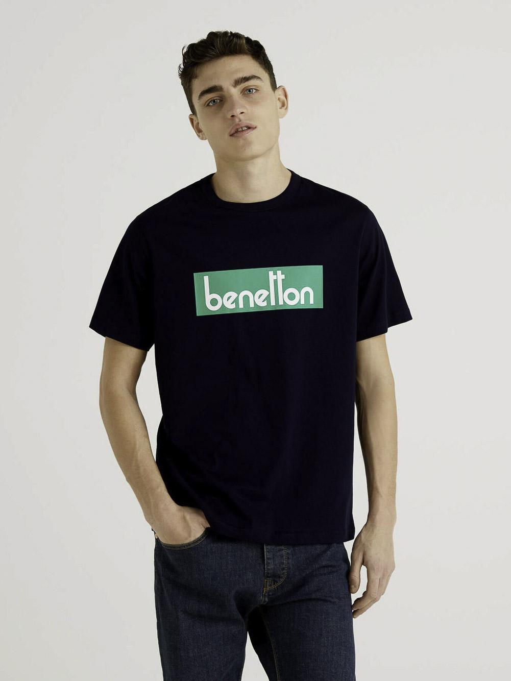 BENETTON Μπλούζα t-shirt 3096J17H6 21P016