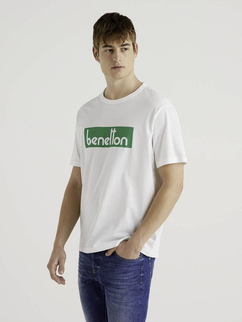 BENETTON Μπλούζα t-shirt 3096J17H6 21P101