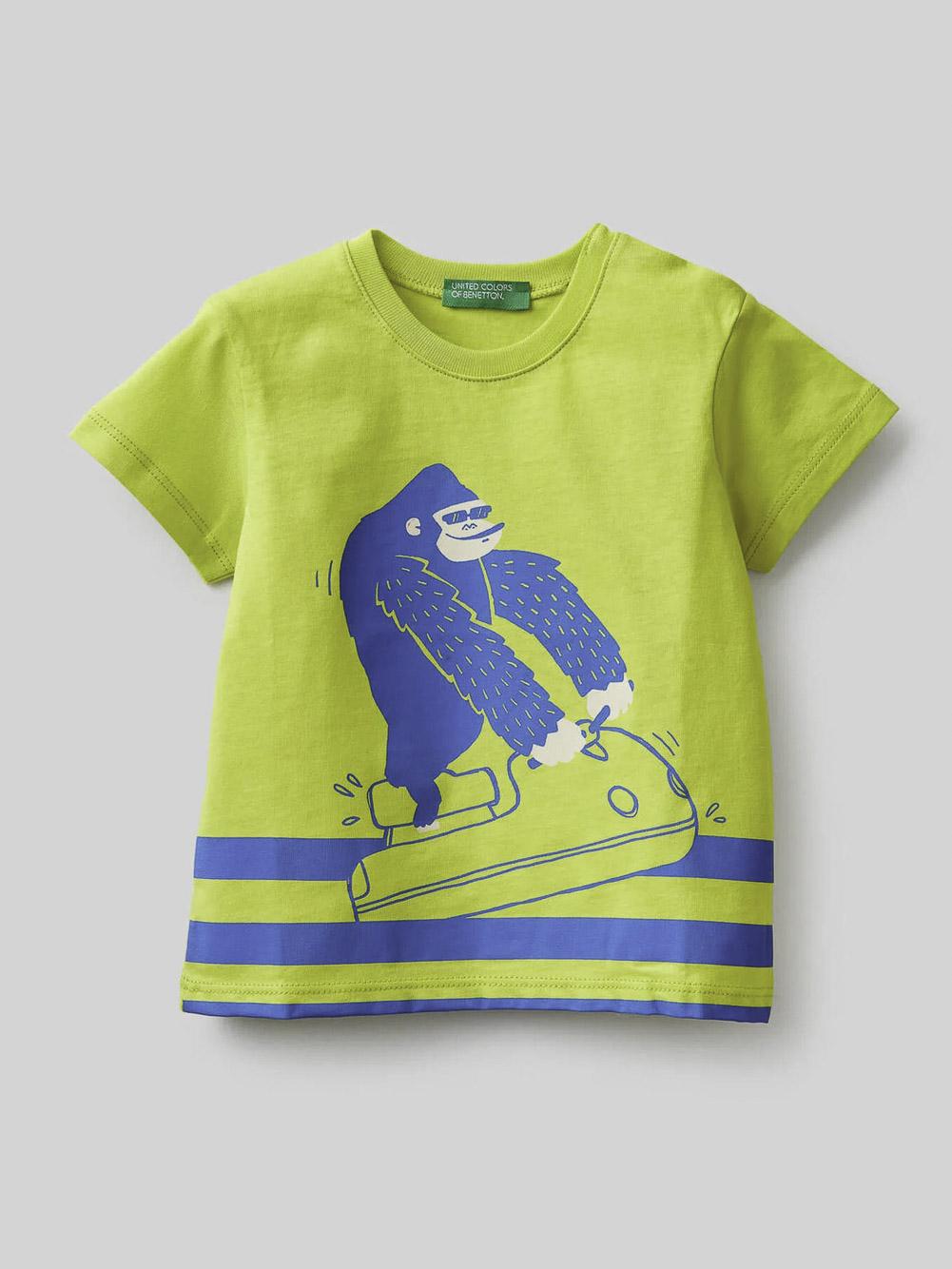012 BENETTON Μπλούζα t-shirt 3096C15AX 21P29B