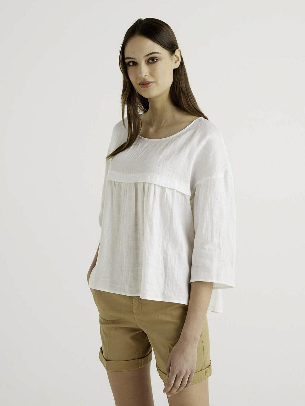 BENETTON Μπλούζα t-shirt 5BML5QC24 21P101