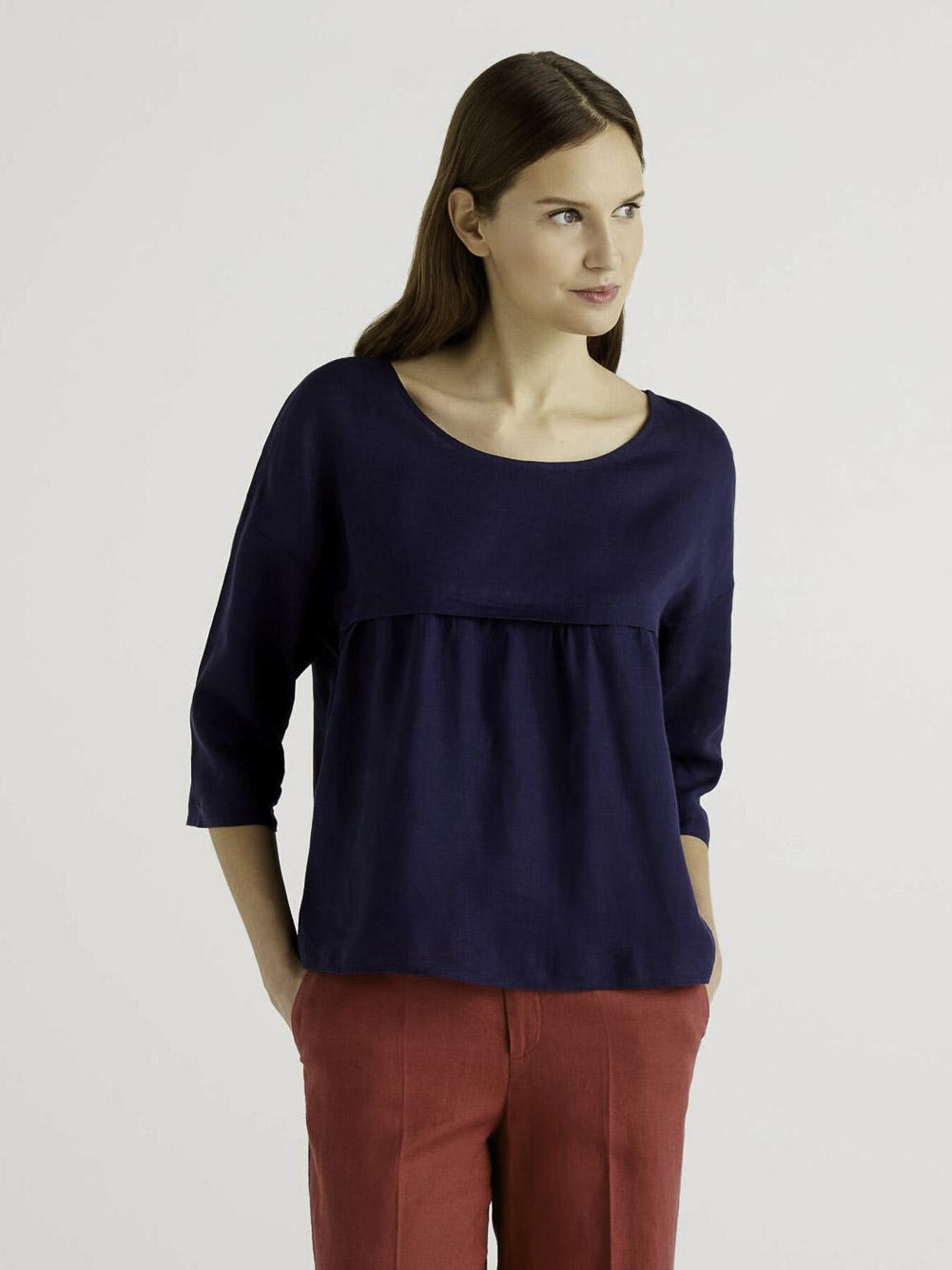 BENETTON Μπλούζα t-shirt 5BML5QC24 21P252