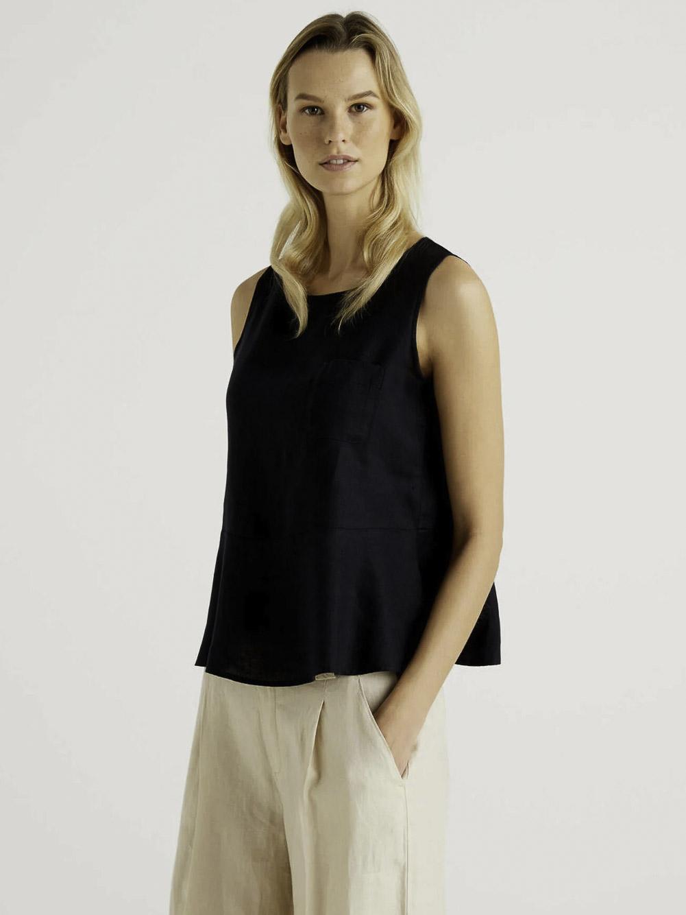 BENETTON Μπλούζα t-shirt 5BML5QBA3 21P100