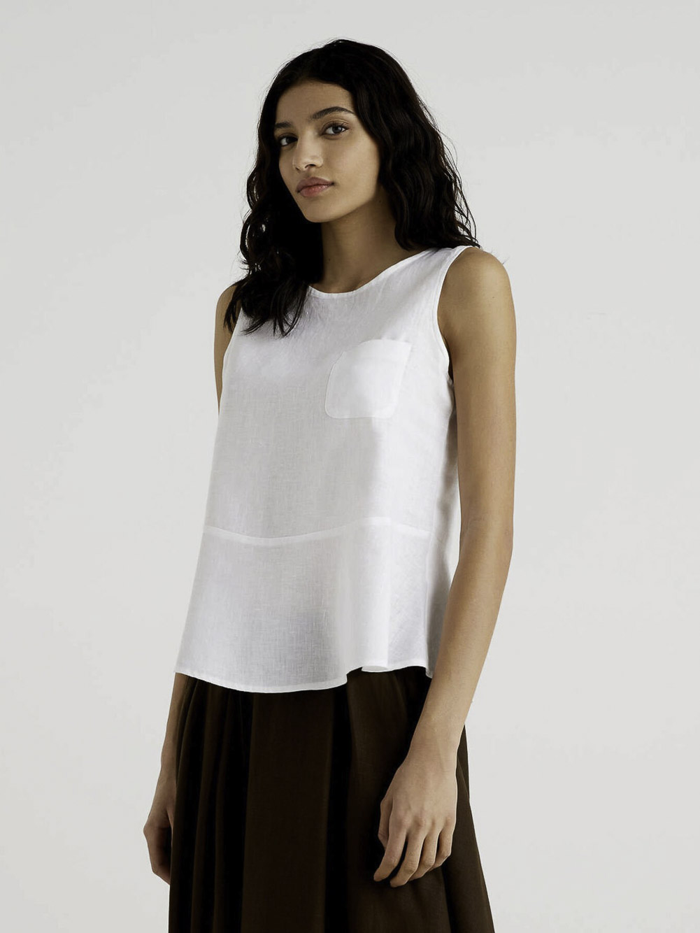 BENETTON Μπλούζα t-shirt 5BML5QBA3 21P101