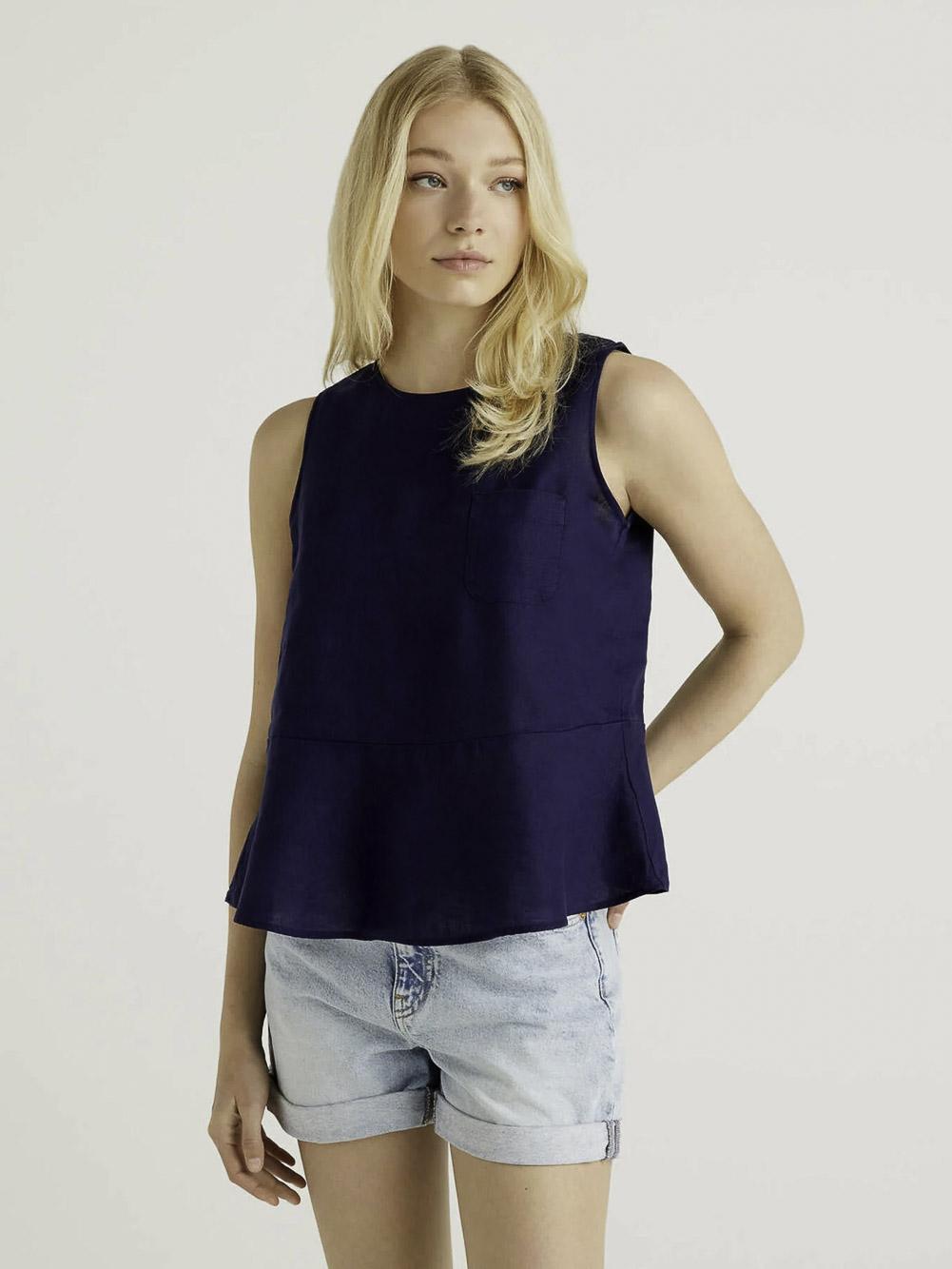 BENETTON Μπλούζα t-shirt 5BML5QBA3 21P252