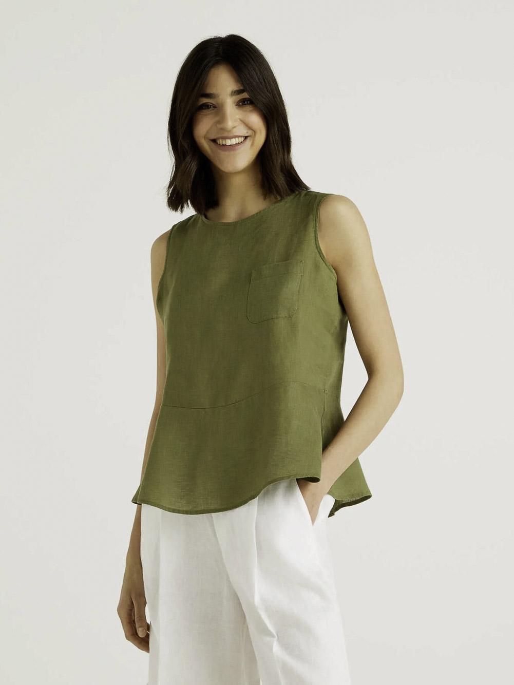 BENETTON Μπλούζα t-shirt 5BML5QBA3 21P2H2