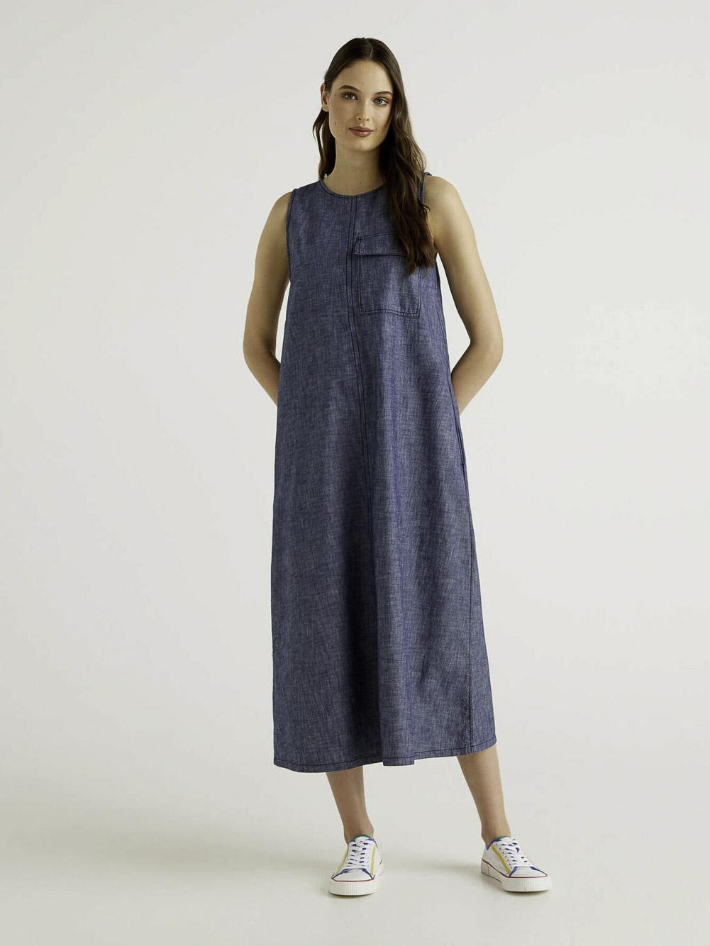 BENETTON Φόρεμα maxi 4SZ25VCH5 21P905