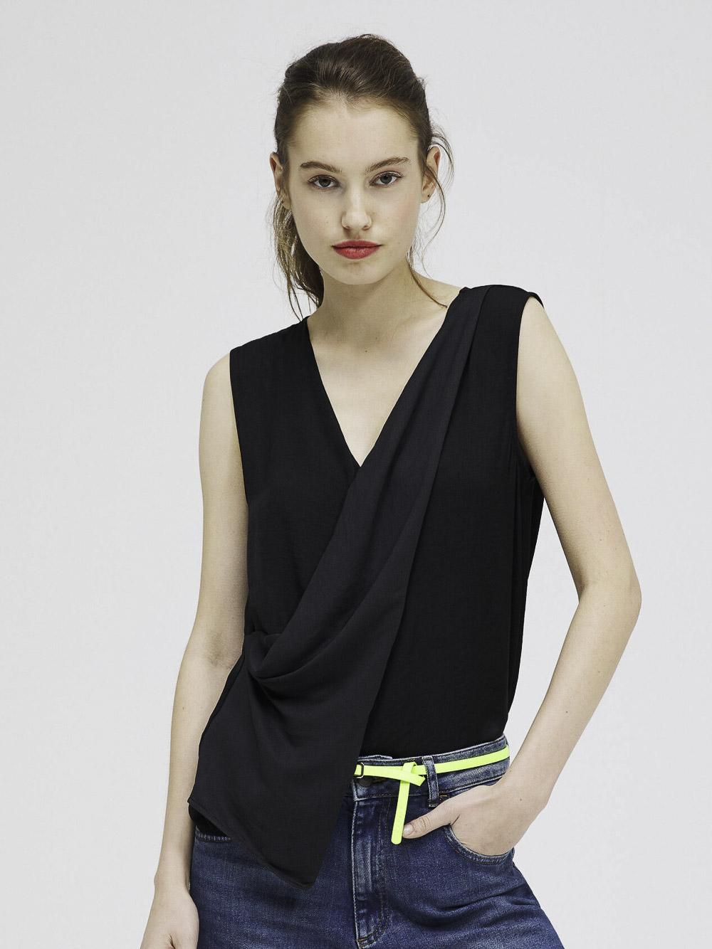 SISLEY Μπλούζα t-shirt 5QR05T3N6 21P100